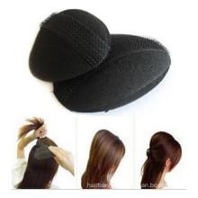 Black Sponge Volume Hair Insert for Lady (HEAD-06)