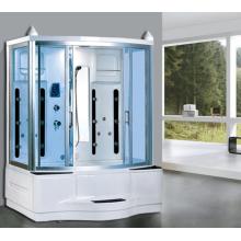 Salle de douche à vapeur en aluminium