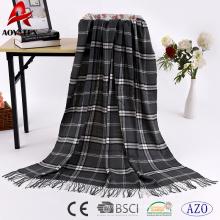 Klassische Plaid sehr warm 100% gewebt Acryl warme Decke Großhandel