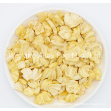 China Wholesale Crispy Fried Pineapple Chips Export Standard Dried Fried VF Pineapple