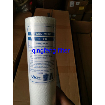 1Micron Sedimento PP Melt-Blown Filter Cartridge