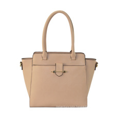 2015 Chic Ladies PU Shaped Handbag with Top Closure