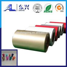 Coiled Aluminium Coil for PP Caps
