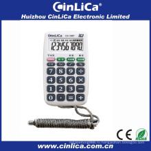 Карманные мини-карманные калькуляторы для рекламного подарка с ожерельем