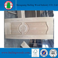 4mm Natural Wood Veneer Moulded HDF Doorskin