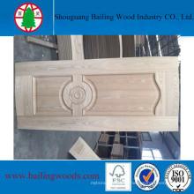 4mm folheado de madeira natural HDF moldado Doorskin
