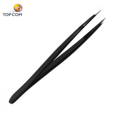 Professional own brand eyelash extention tweezers private