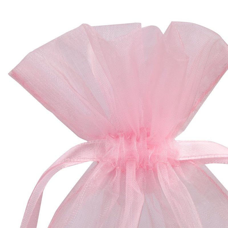 colorized organza pouch