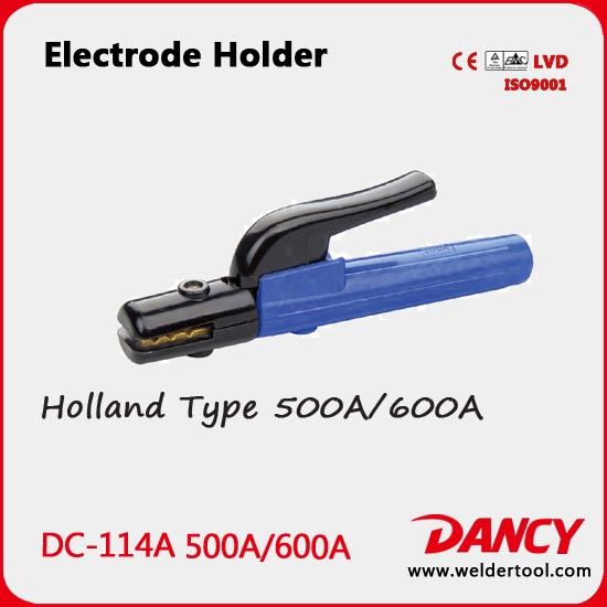 Holland Type good heat resistance electrode holder in arc welding code.DC-114A