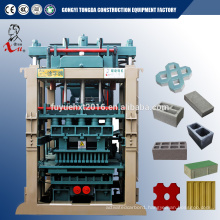 Automatic Small Concrete Cement Brick Making Machine interlocking Hydraulic paver block machine