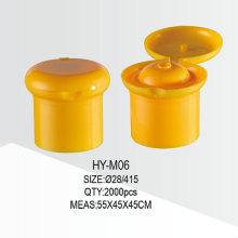 28/415 Flip Top Cap Plastik Wasserflasche Cap