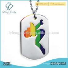 Top sale silver pendants jewelry,tag dog sport pendants design