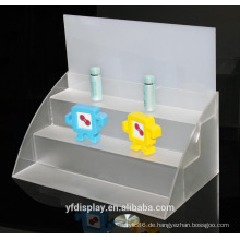 Maßgefertigte Acryl Spielzeug Modelldarstellung