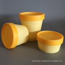 Пластиковые банки пустой крем для косметической упаковки