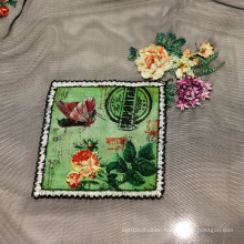 Fashion Mesh Fabric with Embroidery
