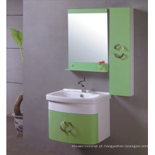 Mobília do armário de banheiro do PVC de 60cm (B-531)