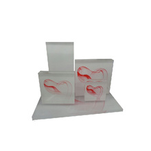 Red Flying Cloud Shape Jewelry Acrylic Display Windows Wholesale (WST-ACK-WR)
