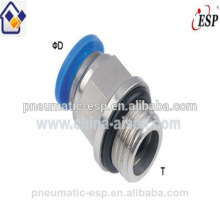 high quality ningbo manufacturer male straight PC8-02 or PC8-G02 conectores neumaticos