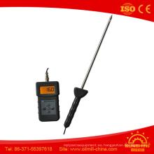 Medidor de humedad estable del suelo del humectante del polvo del yeso del rendimiento Pms710