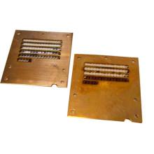 Coupe de laser en métal de cuivre