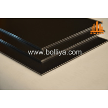 2000mm Silver Mirror Brushed Hairline ACP Sign Substrate
