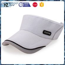 New and hot custom design high quality embroidered visor cap for sale
