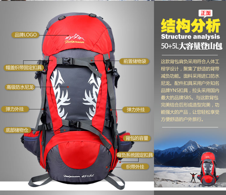 Large Capacity Backpack Bag