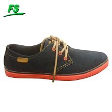 nouvelle conception hommes toile plate chaussure