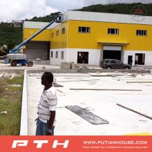 Pth Large Large Well Workshop de estrutura de aço de design