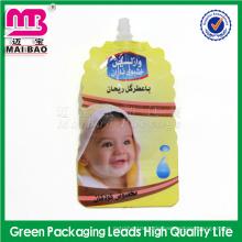 Reach Lebensmittelqualität wiederverwendbare automatische Produktion Muttermilch Aufbewahrungstüten mit Ausguss