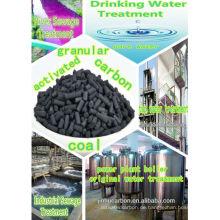 Palm Shell Aktivkohle für Wasser