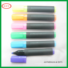 Non-toxic Highlighter Marker Pen wit Colored Clips