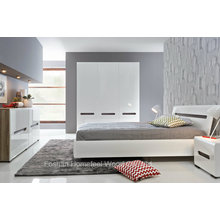 New Design White High Gloss Bedroom Set (HF-EY066)