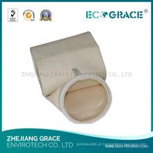 Saco de filtro industrial metalúrgico de Nomex do coletor de poeira do jato para a coleção do pó