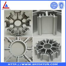 Disipador de calor de la protuberancia de aluminio del precio bajo de la fábrica
