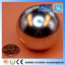 "Super Größter 2 ""Durchmesser Neocube Magnet Ball Nickel"