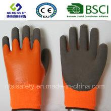 Gants givrés au latex, Gants de travail de sécurité de finition sablonneuse (SL-RS307)
