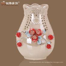 Hersteller direkt Angebot chinesischen Stil Keramik Dekoration Vase für Hausdekor