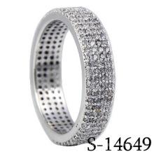 Anneau de bijoux en argent sterling 925 (S-14649. JPG)