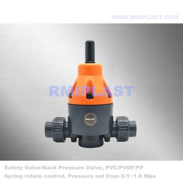 UPVC safety valve socket DIN PN10