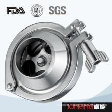 Нержавеющая сталь Тип зажимного клапана (JN-NRV1004)