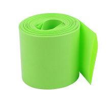 Tuyauterie rétrécissante de chaleur de PVC d'isolation électronique verte d'herbe pour protéger le câble et la batterie