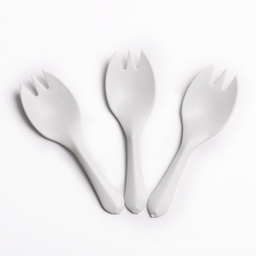 """Disposable plastic 3"""" spork in white color with best quality"""
