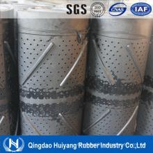 Chain Shot Blast Machine Rubber Belt Special Conveyor Belt with Holes