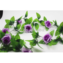 Beautiful artificial Rose wreath in different colors for Wedding decor