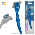 Double Sided Denture Toothbrush