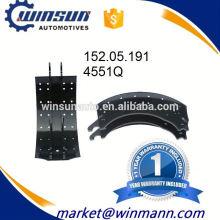 Bremssystem Trailer 4551Q Bremsbacke