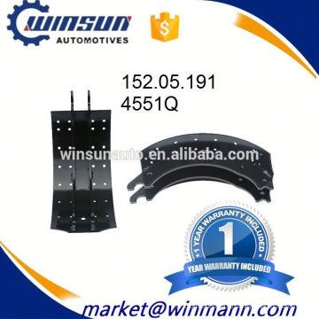 Тормозная система прицепа 4551Q тормозных колодок