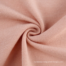 High quality 30s cotton recycled polyester spandex knit single jersey fabric for tshirts