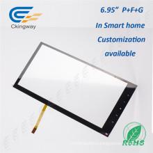 Прозрачный стеклянный сенсорный экран 5.6-дюймовый USB-принтер для красоты